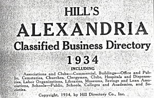 1934 Black Businesses