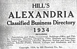 1934 Black Businesses